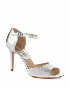 Michael Kors, Malia Metallic Leather Sandals | Lord and Taylor