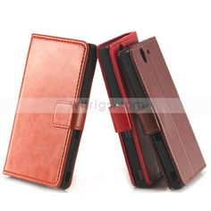 Premium Magnetic Wallet Leather Case for Sony Xperia Z / Xperia Z LT36h  (1) 1.made of high quality leather material 2.Wallet appearance , fashionable and you could put your cards on the cover ! 3. Very good to the feel in your hands! #XperiaZ  #witrigs