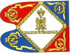 Guidon of the Mameluks of the Guard, reverse 1804-1811.