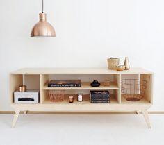 Wood Republic PL Plywood TV Cabinet