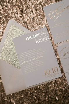 CYNTHIA Suite Glitter Package, rose gold, gold foil, glitter, blush and gold, blush wedding, elegant wedding, spring wedding invitations