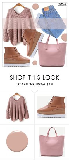 """""""Romwe 6/17"""" by goldenhour ❤ liked on Polyvore featuring Christian Louboutin and Levi's"""