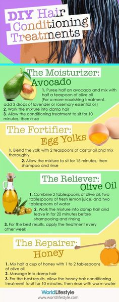 DIY Hair Conditioning Treatments
