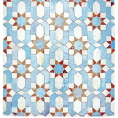 Happy Friday! This ancient #mughal tile pattern gets us in a happy mood. #heritage #antique #ancient #tiles #vintage #blue #happymood #happyfriday #tgif #pattern #india #monsoonandbeyond