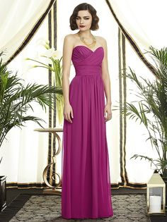 766c12c0e6 Dessy Collection Style 2896. Elegant Bridesmaid DressesStrapless Dress  FormalWedding ...
