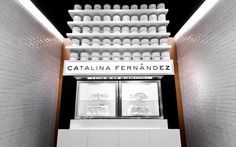 Catalina Fernandez pastry interior & branding by Anagrama, San Pedro   Mexico store design branding