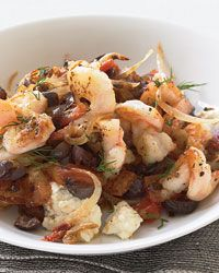 Shrimp Saganaki Recipe on Food & Wine