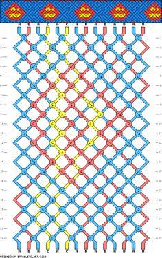 356 best friendship bracelets patterns images in 2012 friendship Friendship Bracelet Graphic