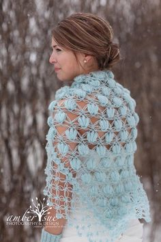 Bridal Shrug /Bridal Bolero /Shawl /Winter accessories /Wedding /Bride accessories /Bridal Bolero /Bridal attires/Winter Wedding/ Blue Shrug...