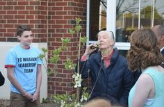 Jane Goodall advocates for young people to come together and solve problems