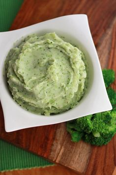 Parmesan Broccoli Mashed Potatoes