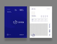 """Check out this @Behance project: """"Unita · Brand identity"""" https://www.behance.net/gallery/57311545/Unita-Brand-identity"""
