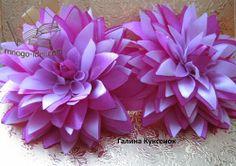 Dahlia -satin ribbons