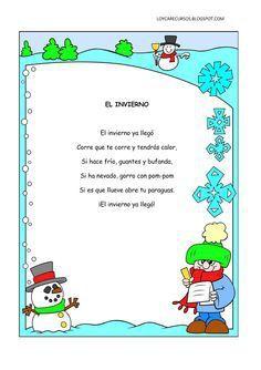 poemas del invierno para niños