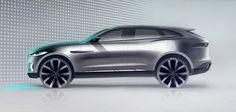 jaguar suv sketches   At the recent Frankfurt Motor Show Jaguar has presented the C-X17 ...