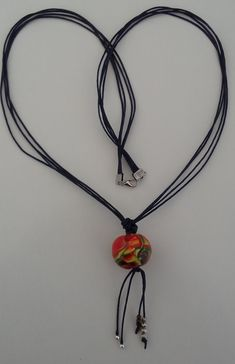 """Halskette """"indian blood"""" Halsschmuck – Steffen´s Accessoires Beaded Necklace, Handmade, Jewelry, Fashion, Accessories, Special Gifts, Red Color, Neck Chain, Yellow"""