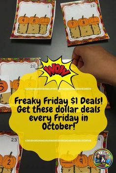 I am so happy that October is here and we have lots of great October products and more to share with you every Friday! You can get great deals for just a $1! Read more!