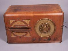 Vintage RADOLEK Table Top Radio Model 6763 - WORKS - Beautiful Woodwork -1937 | eBay