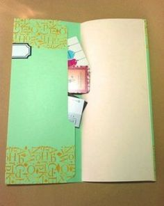 This book does double duty, not only does is it filled with pages perfect for note taking and sketching it also has pockets to store all the little bits we all pick up when we're out and about. See how to make this recycled file folder book with pocket over at Craftside.
