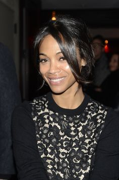 The talented Zoe Saldana ...She makes me wanne be rich and powerful!... She starred as Vanessa in Blood Ties (2013)
