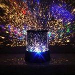 Night Sky Star Projector Light ~ Spinning lamp ~ Space cosmo galaxy Sun