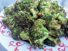 Roast Teriyaki Broccoli from Food.com: A tasty, nutritious and easy to prepare side dish, adapted from Sandy Frazer's 'Living Lite family recipes: delicious, healthy meals in 15 minutes'.