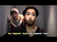 "Vas happenin boys. hahaha i love this song(:   ""Vas happenin Mom, vas happenin Mick!"" ~Harry Styles <3"