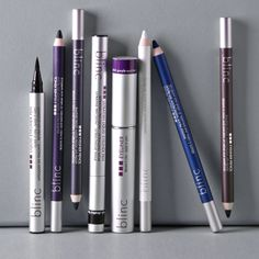 Blinc -                                                                        Eyeliner Pencil – White                                 Eyeliner Pencil – Purple                                 Mascara Amplified – Black                                 Mascara Amplified – Dark...  #EyeShadow, #Painting