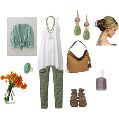 Spring time, created by tani-m - this is what I'll be wearing soon :)