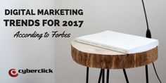 2017 is finally here, and our crystal balls are all out: what will be the most revolutionary digital marketing trends of 2017? For you to be prepared and not be taken by surprise, I would like to share with you today what Forbes thinks about what this year has in store for us....