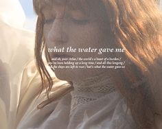 Florence + the Machine - What The Water Gave Me #lyrics