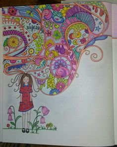 Ivy And The Inky Butterfly Joanna Basford Ivys Imagination Cloud Prismacolor Premier