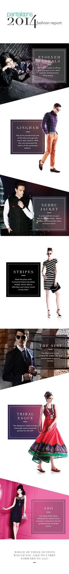 2014 Fashion Report - Pantaloons Fashion