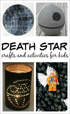 10+ Star Wars crafts and activities for kids who love the Death Star