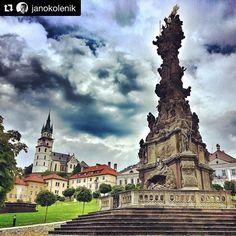 Kremnica tak krasna ... #praveslovenske od @janokolenik  #kremnica #slovensko #slovakia #mincovna #mint #history #majorminingtown #castle #traditional #traditions