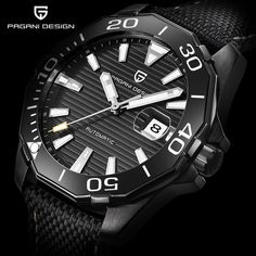 PAGANI DESIGN New Arrival Men's Mechanical Watches Classic Diving Series Waterproof Brand Luxury Watch Men Relogio Masculino //Price: $US $64.99 & FREE Shipping //     #hashtag1