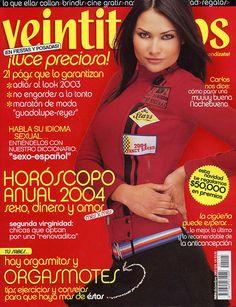 Portada revista Veintitantos, México,  diciembre 2003