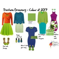 Pantone Colour of 2017 - Greenery - what to pair it with - softer versions will work with Spicy