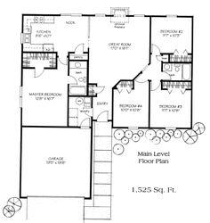 Floor Plans for Ranch Homes | Floor Plans