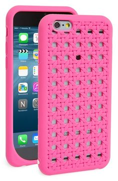 Free shipping and returns on kate spade new york 'woven cane' silicone iPhone 6 case at Nordstrom.com. A woven cane texture done up in hot pink recalls the lazy, hazy days of summer on this silicone phone case that will protect and display your favorite tech in fabulous style.