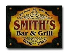 Custom Bar & Grill Stretched Canvas Print ZuWEE https://www.amazon.com/dp/B0192R918S/ref=cm_sw_r_pi_dp_J9SNxbS8PG8YS