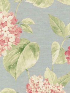 Interior Place - Pink Gisella Hydrangeas Wallpaper, $26.99 (http://www.interiorplace.com/pink-gisella-hydrangeas-wallpaper/)