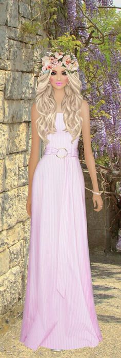 Hair Undone Lucy Costume, Beautiful Dolls, Beautiful Women, Covet Fashion Games, Bridesmaid Dresses, Wedding Dresses, Fashion Illustrations, Hair Makeup, Barbie