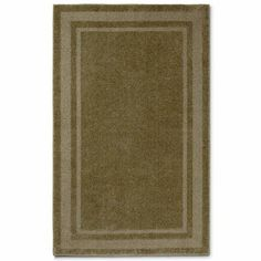 Double Border Washable Rectangle Rug - jcpenney