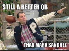 Still a better QB than Mark Sanchez