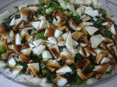 My recipe for a salad that I liked very much. Light Recipes, My Recipes, Salad Recipes, Vegan Recipes, Cooking Recipes, Healthy Salads, Healthy Eating, Turkish Salad, Middle Eastern Recipes