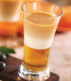 """Coffee shot"" con licor de durazno..."