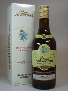 Barbancourt Rhum 8 Jahre 43%vol. 0,7l Tolle Geschenkideen mit Rum gibt es bei http://www.dona-glassy.de/Geschenke-mit-Rum:::22.html