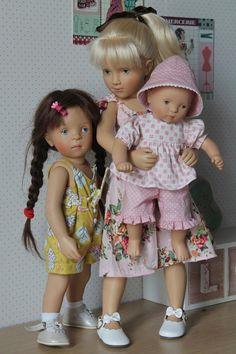 Le Journal de Juliette (Spéciale de Sylvia Natterer et Petitcollin) Le manteau de novembre P2 Pretty Dolls, Cute Dolls, Beautiful Dolls, Doll Toys, Baby Dolls, Petit Collin, Juliette, White Balloons, Family Love