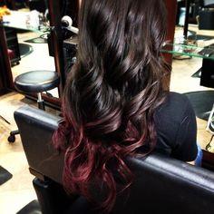 hair color trends 2013 | subtle ombre burgundy hair Advice On Ombre Burgundy Hair